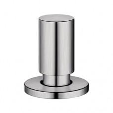 Круглая ручка управления клапаном-автоматом Blanco, сталь с матовой полировкой арт. 222118