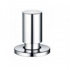 Круглая ручка управления клапаном-автоматом Blanco, пластик с хромированием арт. 225112