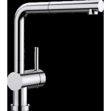 Смеситель Blanco LINUS-S-F для установки перед окном, хром арт. 514023