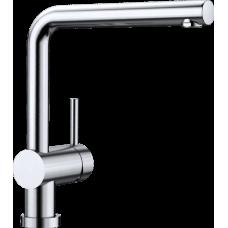 Смеситель Blanco LINUS-F для установки перед окном, нержавеющая сталь арт. 514026