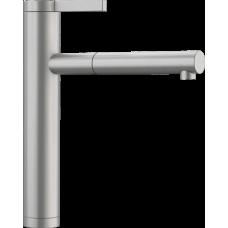 Смеситель Blanco LINEE-S выдвижной излив, нержавеющая сталь с матовой полировкой арт. 517593