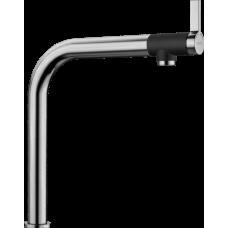 Смеситель Blanco VONDA вращающийся излив, нержавеющая сталь арт. 518435