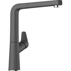 Смеситель Blanco AVONA-S выдвижной излив, темная скала арт. 521285