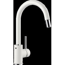 Смеситель Blanco MIDA-S выдвижной излив, белый арт. 521457