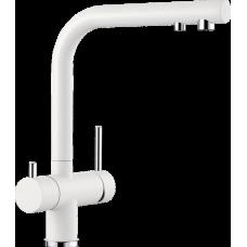 Смеситель Blanco FONTAS II с вращающимся изливом, белый арт. 525141
