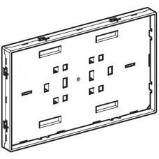Опорная пластина с рамкой для защитной крышки Geberit Sigma, глянцевый хром арт. 243.307.21.1