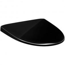 Сиденье для унитаза Gustavsberg Estetic 9M10 черное, с функциями SC/QR арт. 9M10S136
