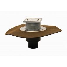 HL310NH.2 Трап для балконов и террас, с высокой пропускной способностью, DN50/75/110, с полимербитумным полотном