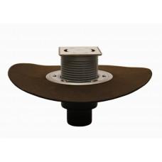 """HL310NH.2-3000 Трап для балконов и террас, с высокой пропускной способностью, с надставным элементом """"Klick-Klack"""", с полимербитумным полотном"""