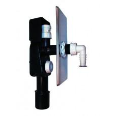 HL404.1 Сифон для скрытой установки, для стиральной или посудомоечной машины, с воздушным клапаном