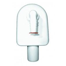 HL410 Сифон для стиральной или посудомоечной машины, для настенного монтажа