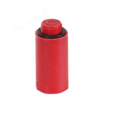 """HL43.R Водопроводная пластиковая пробка-заглушка красного цвета 3/4"""""""