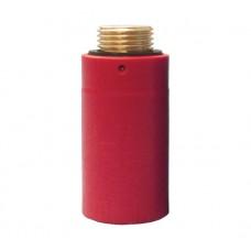 """HL42R.MS Водопроводная латунная пробка-заглушка красного цвета 1/2"""""""