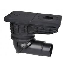 HL600NG Дождеприёмник с высокой пропускной способностью с двумя шарнирными соединениями, с видимыми частями из чугуна