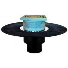 Воронка для эксплуатируемой кровли, с теплоизоляцией, с полимербитумным полотном Ø500 мм арт. HL62BH