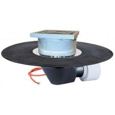 Воронка для эксплуатируемой кровли, с теплоизоляцией, с полимербитумным полотном Ø500 мм, с электрообогревом арт. HL64.1BH