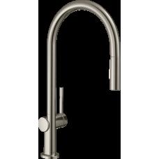 72800800 Кухонный смеситель Hansgrohe Talis M54 однорычажный, 210, с вытяжным душем, 2jet