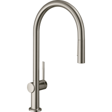 72801800 Кухонный смеситель Hansgrohe Talis M54 однорычажный, 210, с вытяжным душем, 2jet, sBox