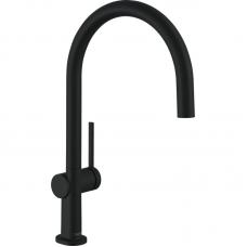 72804670 Кухонный смеситель Hansgrohe Talis M54 однорычажный, 220, 1jet, матовый черный