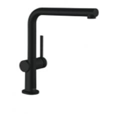 72808670 Кухонный смеситель Hansgrohe Talis M54 однорычажный, 270, с вытяжным изливом, 1jet, матовый черный