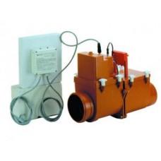 HL712.2EPC Магистральный двухкамерный канализационный затвор с электроприводом DN125