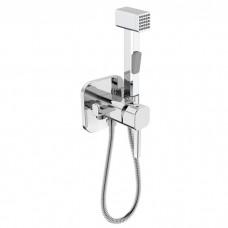 Встраиваемый смеситель с гигиеническим душем, IDDIS, 004SBS0i08