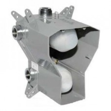 """Скрытый корпус, Steinberg, 1/2"""", подходит для встраиваемого термостата серий 135/160, с 3-х ходовым переключением, с регулировкой температуры и потока воды, уплотнительная манжета Kerdi Арт. 0164120"""
