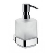 Дозатор для жидкого мыла Loft, 160х113х70мм,настенный монтаж, емкостью 325мм,колба сатиновое стекло, хром арт.052100101
