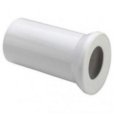 Отвод 100х250 прямой,белый,уплотнение 101312