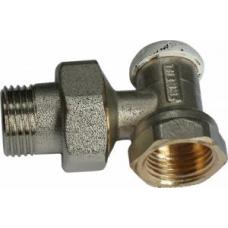 Вентиль НВ 1/2' обратный угловой со сгоном под стальные трубы 3230001 (3236N0404EC)