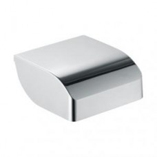 Бумагодержатель с крышкой Elegance, 144х60х140мм,хром арт.11660010000