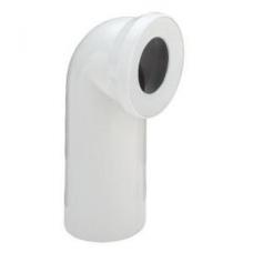 Отвод 100х90',белый,уплотнение 100551