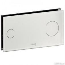 Viega Кнопка смыва Visign for More100 стекло/белый модель 8352.1  597481