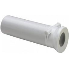 Отвод 100х400 для унитаза прямой с обратным клапаном 134969