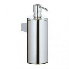 Дозатор для жидкого мыла Plan, 250мл,в комплекте с держателем,пластиковой колбой и насосиком,настенный монтаж,хром арт.14953010100