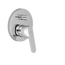 Вито смеситель встраиваемый для  ванны/душа, компл№2 функциональная + декоративная  части, картридж 47 мм, без душевого гарнитура, для монтажа с A1000NU, хромA6065AA