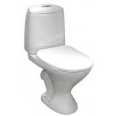 Унитаз Треви , белый, с сиденьем из жесткой пластм.   Z39198-01