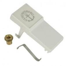 Кнопка слива унитаза Gustavsberg Nordic 390, белая арт. GB1929900278