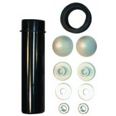 HL226 Крепежный комплект для консольного унитаза с трубой для слива и манжетой