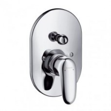 Смеситель Hansgrohe для ванны Metris E 31477