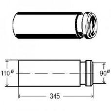 Отвод пpямой, для гоpизонтального подсоединения WC-модулей 8091 Viega арт. 293 987