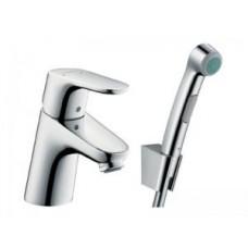 Смеситель HANSGROHE Focus E2 31926 для умывальника с гигиеническим душем