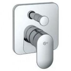 Смеситель встраиваемый для ванны/душа (комплект для наст. монтажа) A4717AA IDEAL STANDARD