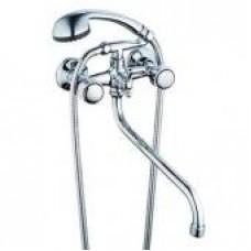 См-ль для ванны с круглым пов. изл., кер. (1/2) 180°,шар. переключение G-lauf QFR7-A608