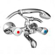 См-ль для ванны литой, L 110мм, лейка Basic, резина 141-1533-00