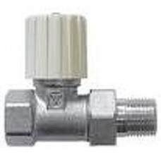 """Клапан 15 """"valtec"""" ручной для радиатора прямой VT.008.LN/04"""
