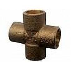 Крестовина Viega под пайку для медных труб 15 мм  Артикул: 94180 15