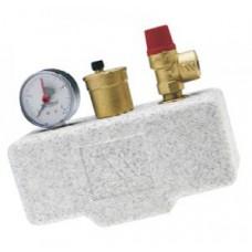Группа  безопасности котла  KSG 30 ISO (сталь)  с теплоизоляцией KSG 30 ISO2 02.71.130