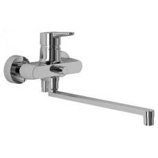 """""""Коннект БЛУ"""" смеситель для ванны/душа настенный, длинный излив 320мм B9923AA"""