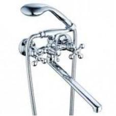 См-ль для ванны с плоским пов. изливом, кер. (1/2) 180°, шар. Переключение G-lauf QTZ7-A856